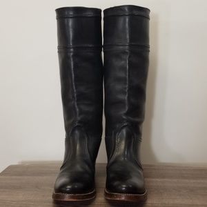 Frye Boots Jane Black Quality Made 9.5